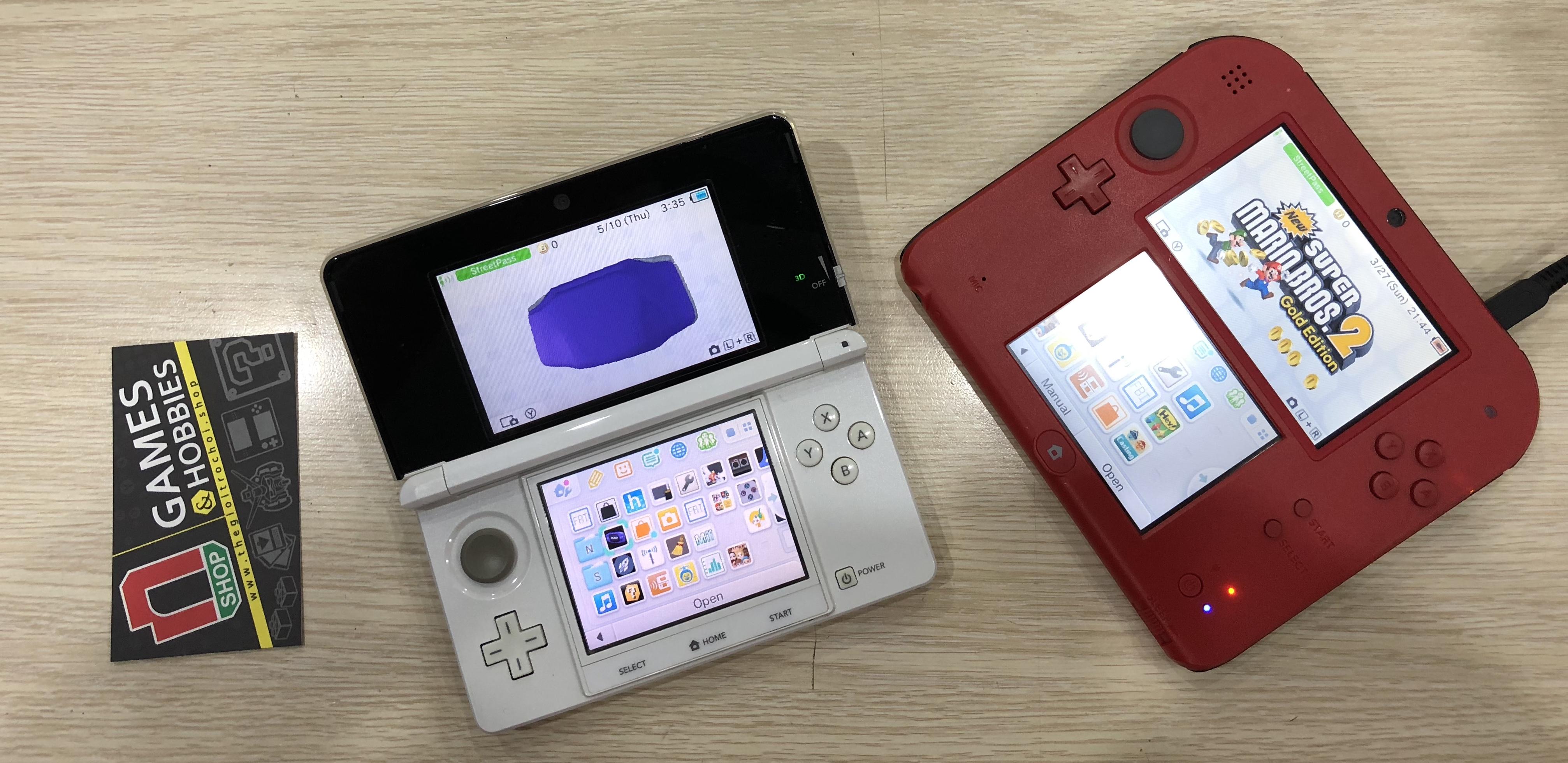 PHÂN BIỆT MÁY NINTENDO 2DS VÀ 3DS, NEW 2DS XL VÀ NEW 3DS XL – nShop - Game  Store powered by NintendoVN