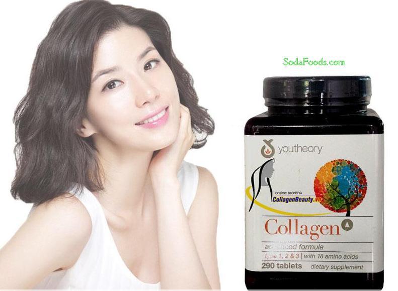 Review Collagen Advanced Formula 390 Của Mỹ - Viên uống làm đẹp da, chống lão hóa
