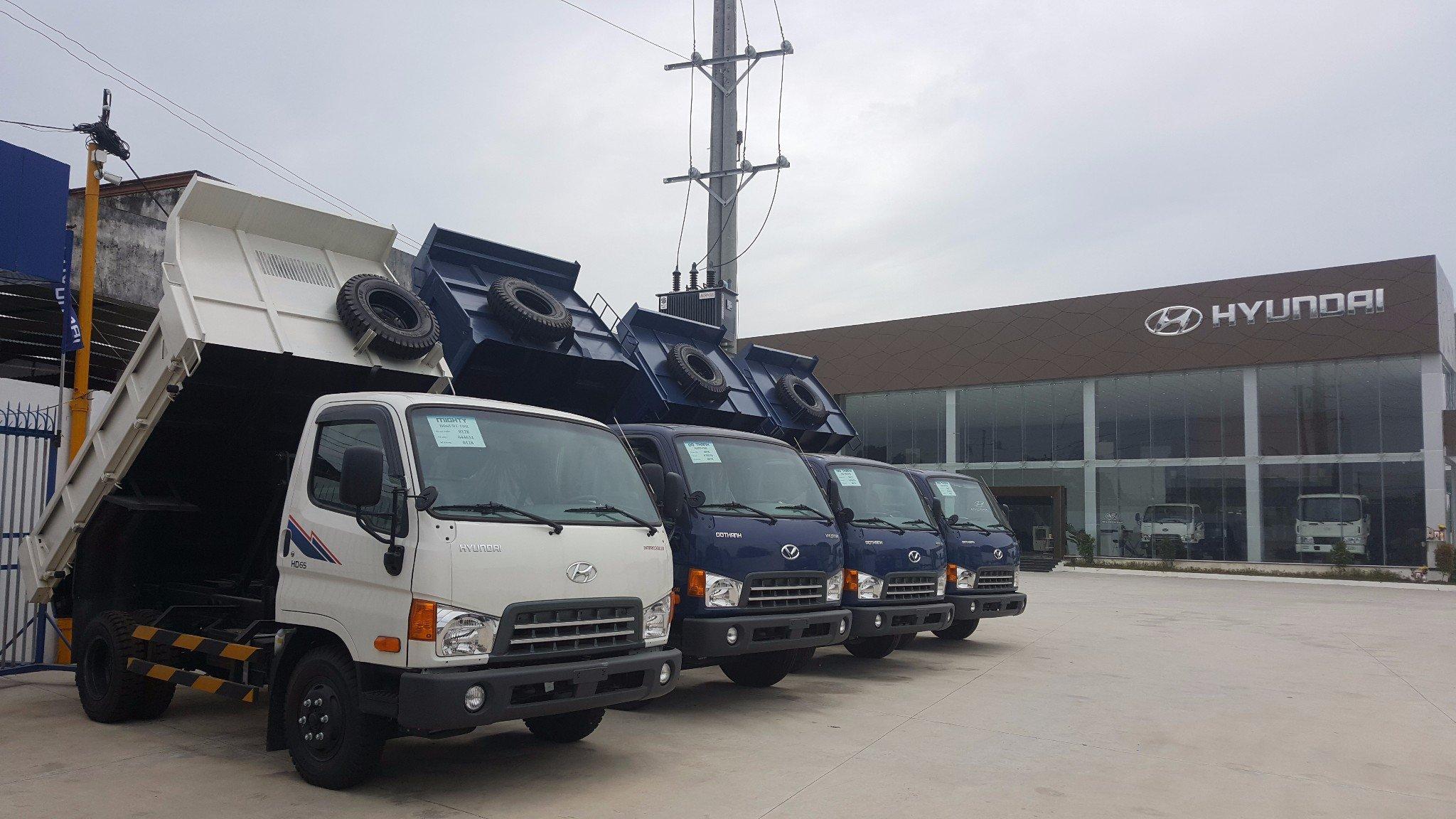 showroom Hyundai Á Châu