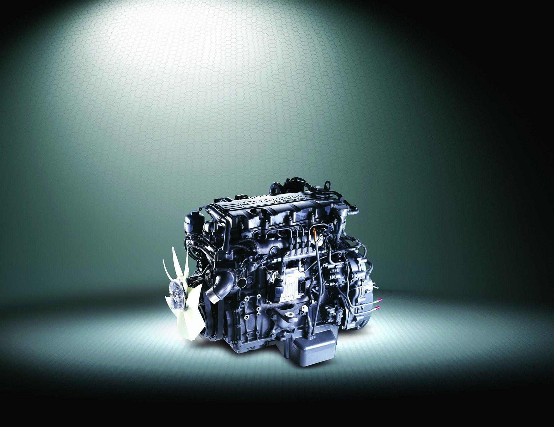 Động cơ Hyundai New Mighty 110S 7 tấn