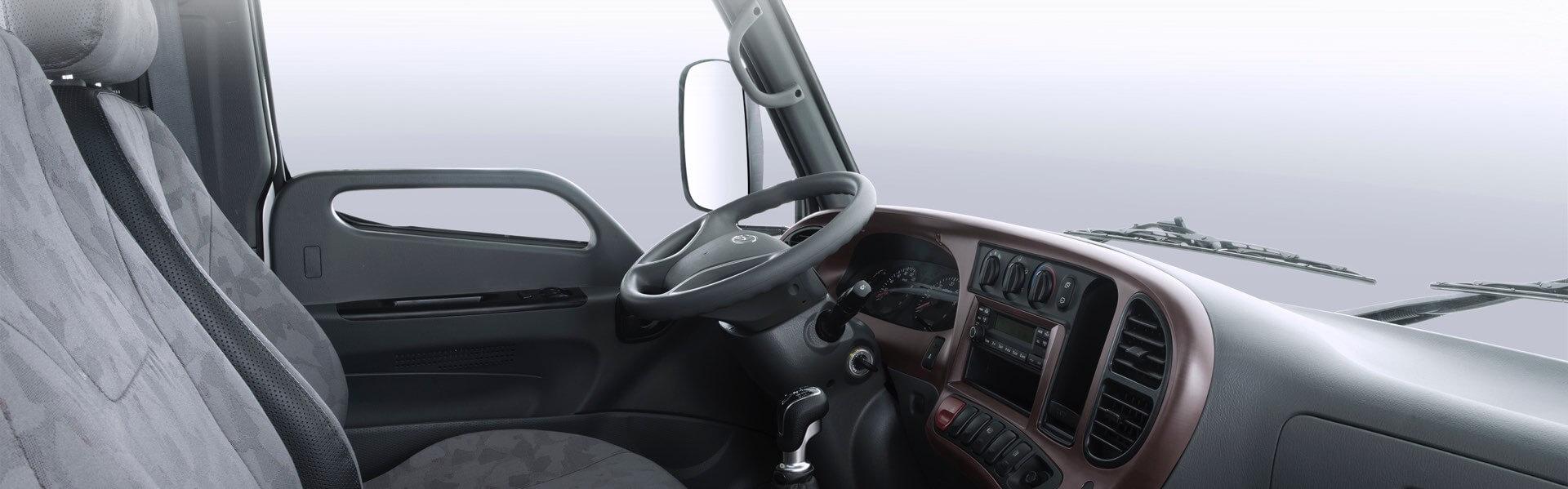 nội thất xe Hyundai New Mighty N250 2.49 tấn