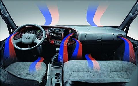 Nội thất xe Hyundai New Mighty 110S 7 tấn