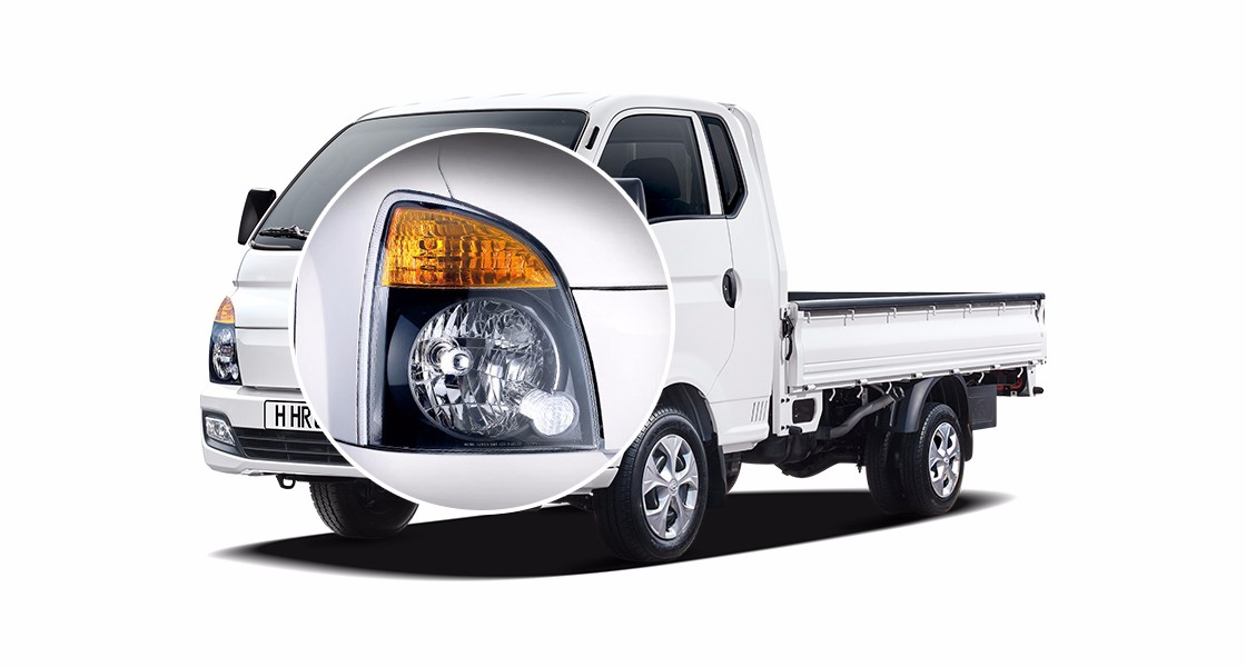 Ngoại thất xe tải Hyundai New Porter1.5 tấn