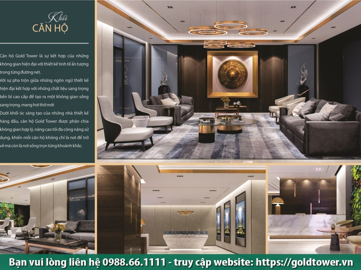 Tiện ích 5* Chung cư Gold Tower 275 Nguyễn Trãi