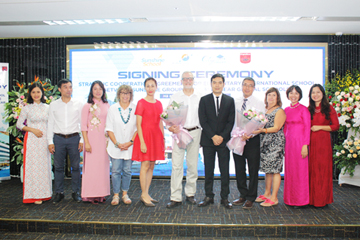 Sunshine Group tiếp tục hợp tác với Maple Bear phát triển trường Tiểu học quốc tế