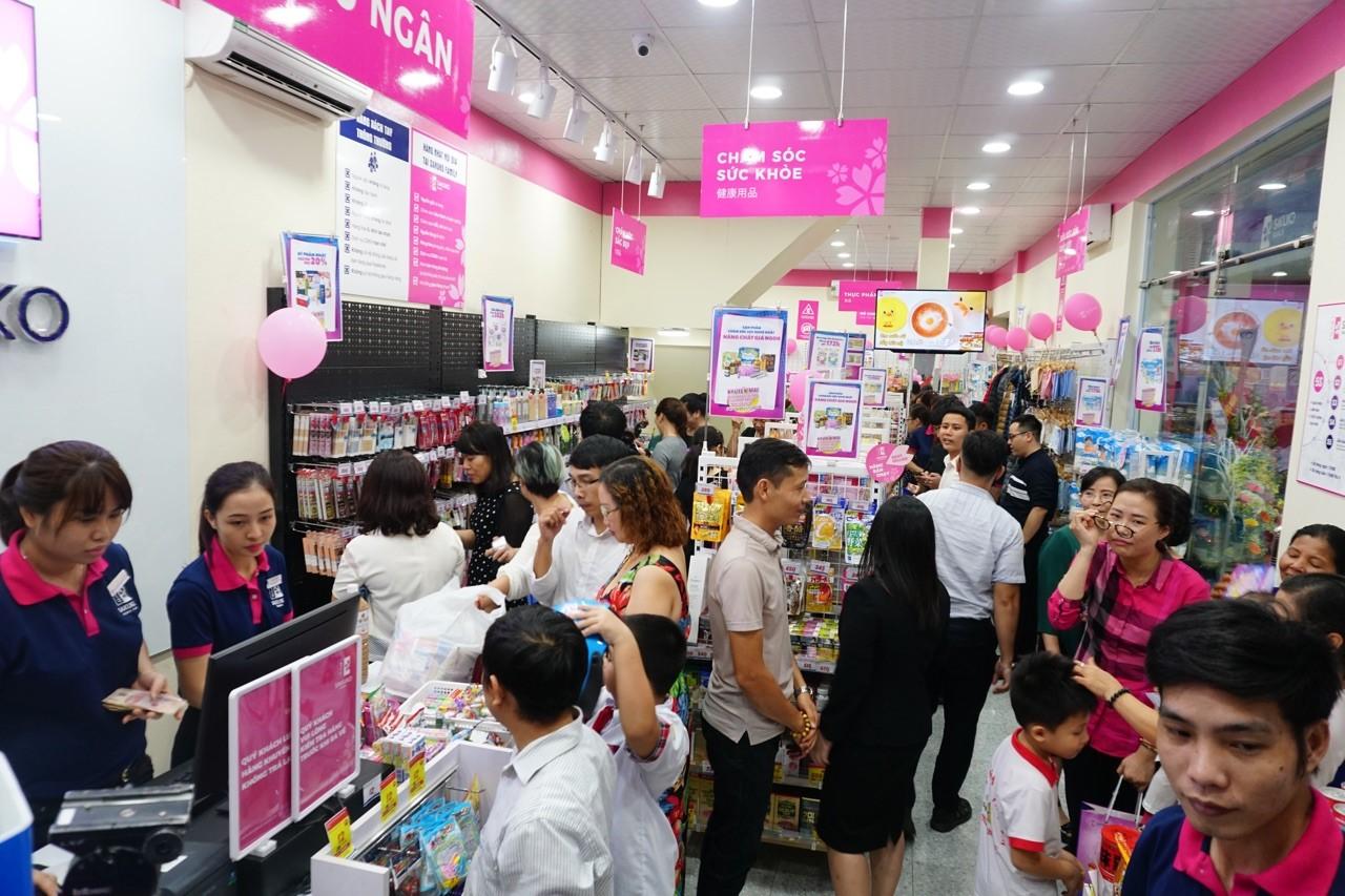 Khai trương siêu thị nhượng quyền hàng Nhật nội địa Sakuko Family Ninh Bình