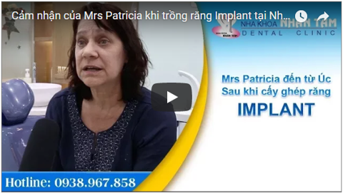 mrs patricia s impression of implant services at nhan tam