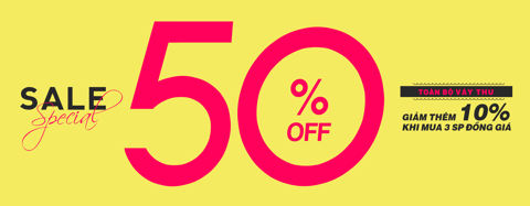 SPECIAL SALE - 50% OFF / ONLY WITH AUTUMN DRESS