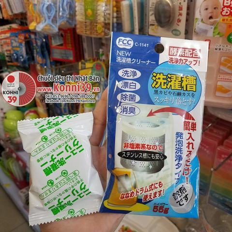 Bột làm sạch lồng giặt Nippan - chuỗi hàng Nhật KONNI39.
