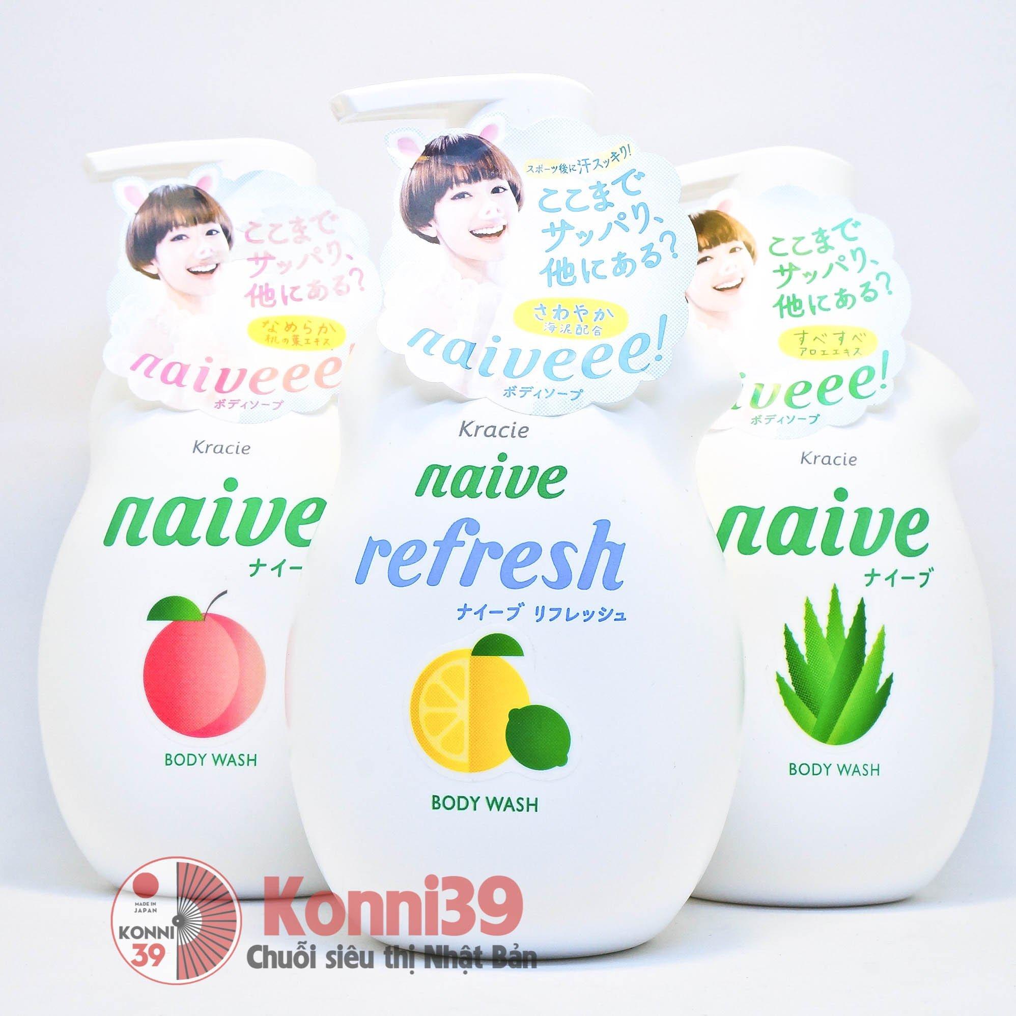 Naive - Sữa tắm được ưa chuộng nhất Nhật Bản?