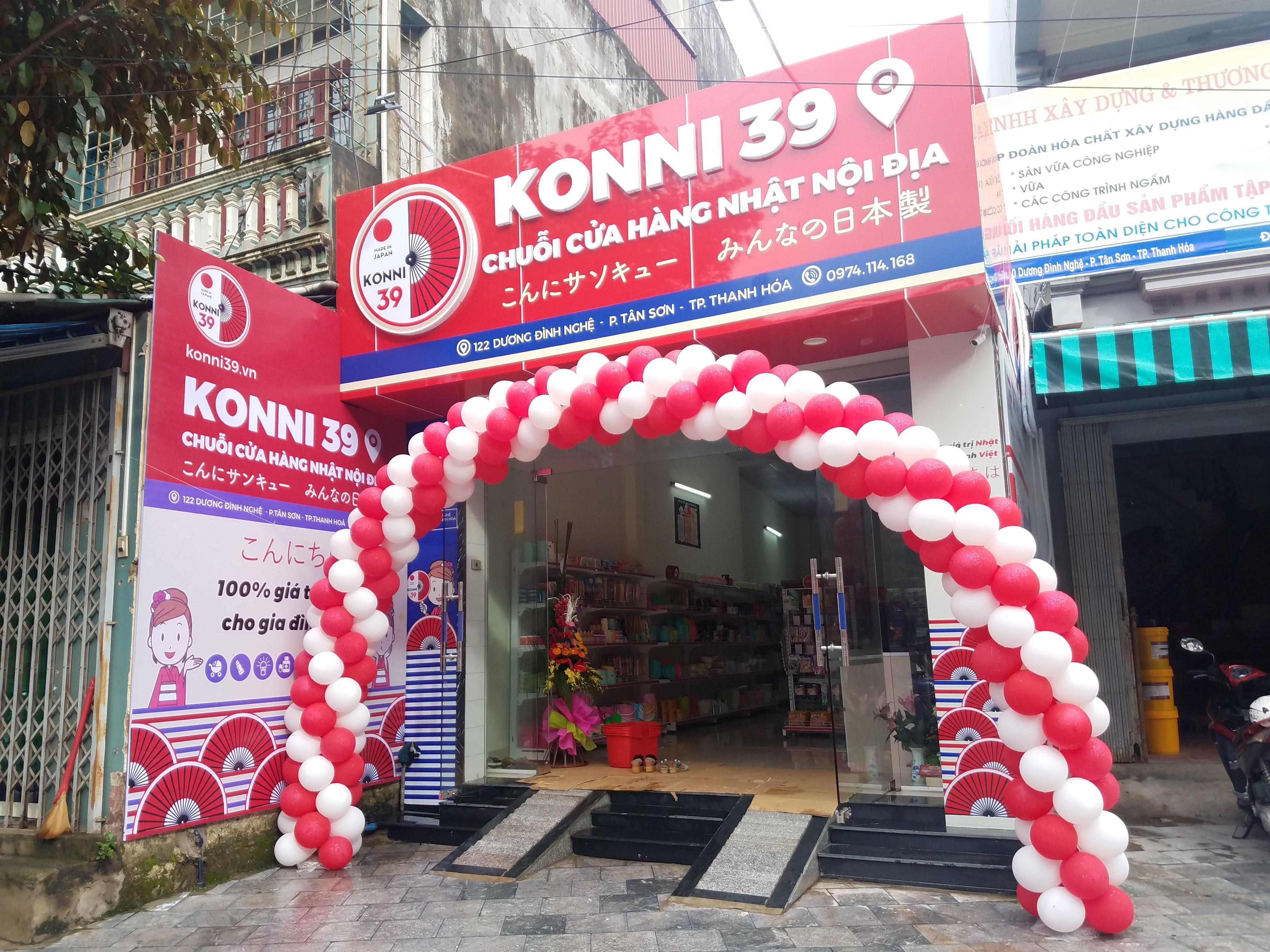 Tưng bừng KHAI TRƯƠNG cửa hàng nội địa Nhật Bản thứ 38 của Konni39 - THANH HÓA