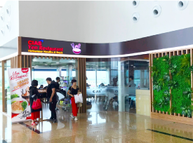 2nd Restaurant in T2 opens