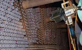 Bảo dưỡng hệ thống ống tường lò, bình ngưng bằng máy vát mép ống