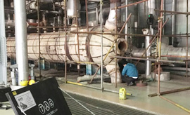 Cắt vát ống bộ quá nhiệt cho nhà máy nhiệt điện