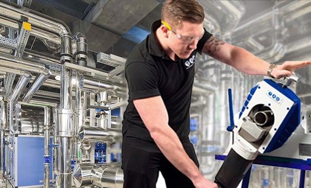 Công nghệ hàn cắt ống Orbital cho nhà máy thực phẩm