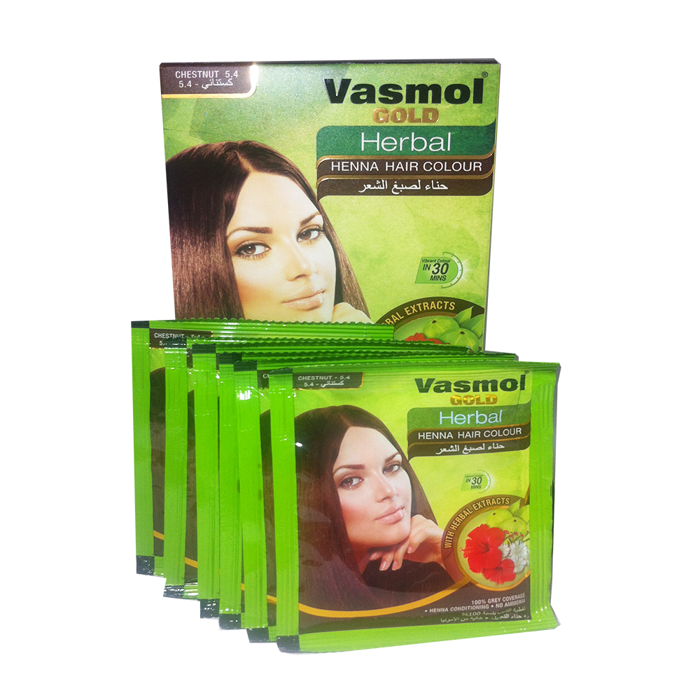 VASMOL GOLD HERBAL HENNA