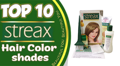 TOP 10 STREAX HAIR COLOUR SHADES
