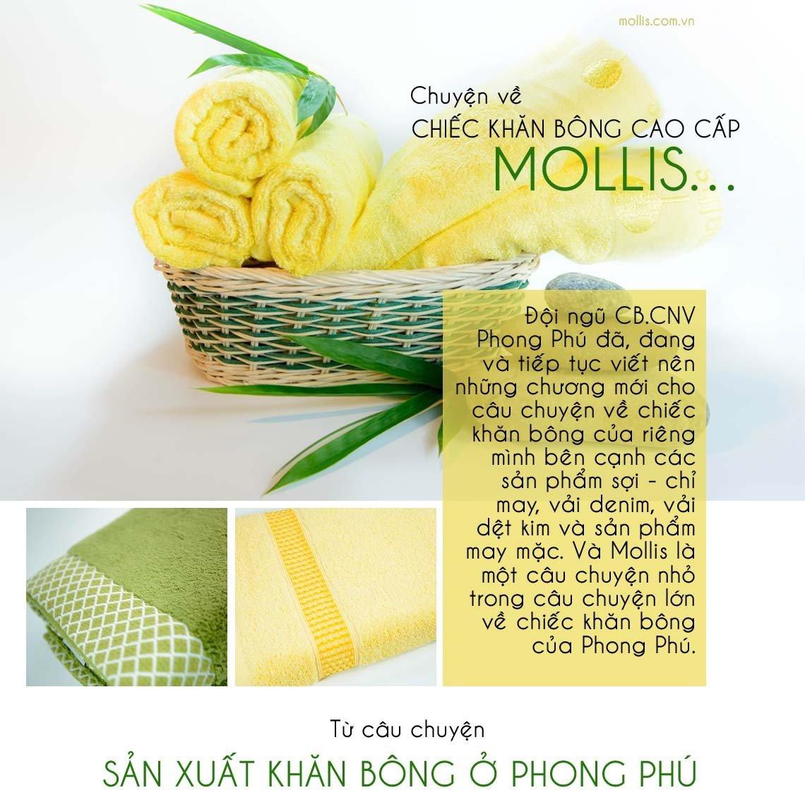 Câu chuyện khăn bông Mollis