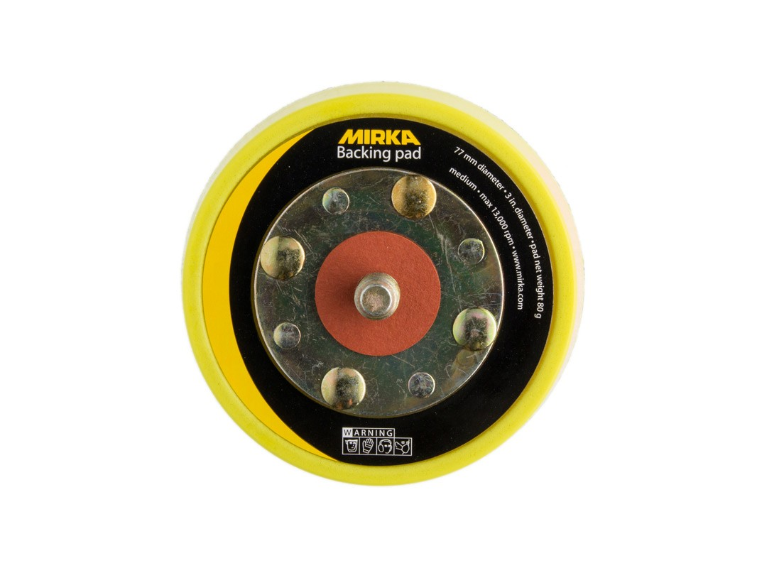 Mirka Backing pad 77mm