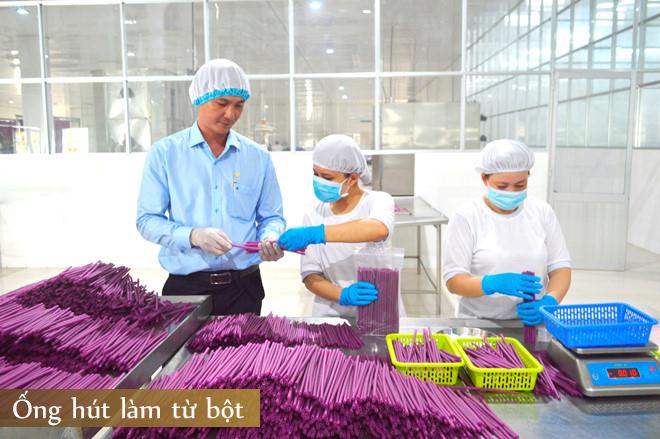 HITA | Ống hút làm từ… bột: Cận cảnh quy trình sản xuất