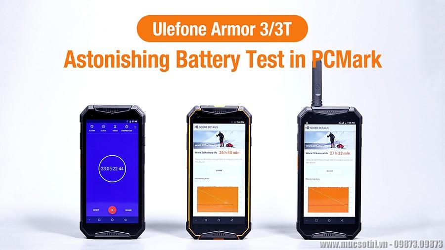 Lộ diện bộ đôi smartphone ulefone armor 3 và 3t pin khủng siêu bền - 09873.09873