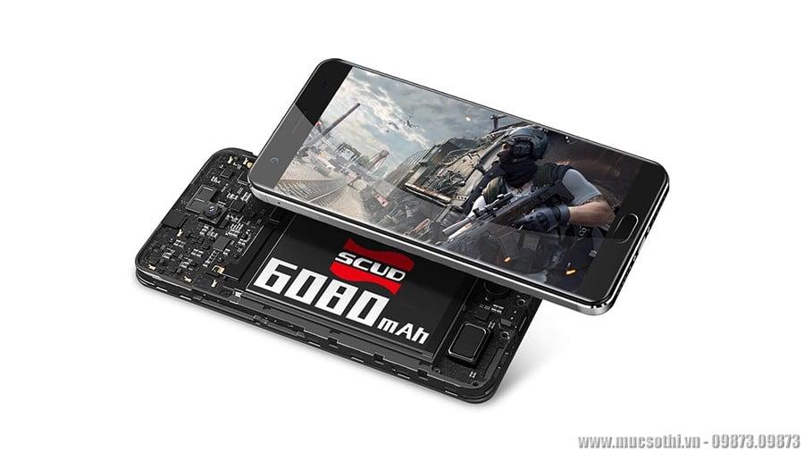 Mục sở thị tất tần tật về OUKITEL K6000 PLUS pin khủng 6080mAh RAM4GB - mucsothi.vn