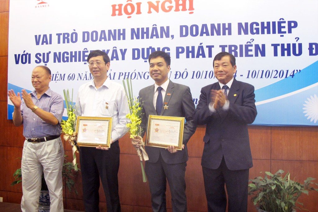 Chairman – General Director, Mr. Phi Ngoc Chung was awarded a medal of