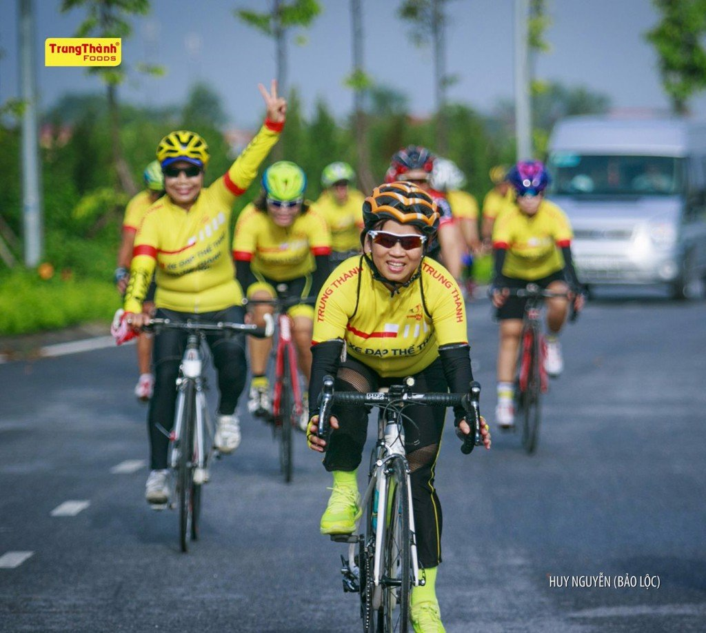 TrungThanh Foods officially established TrungThanh Hanoi bicycle club