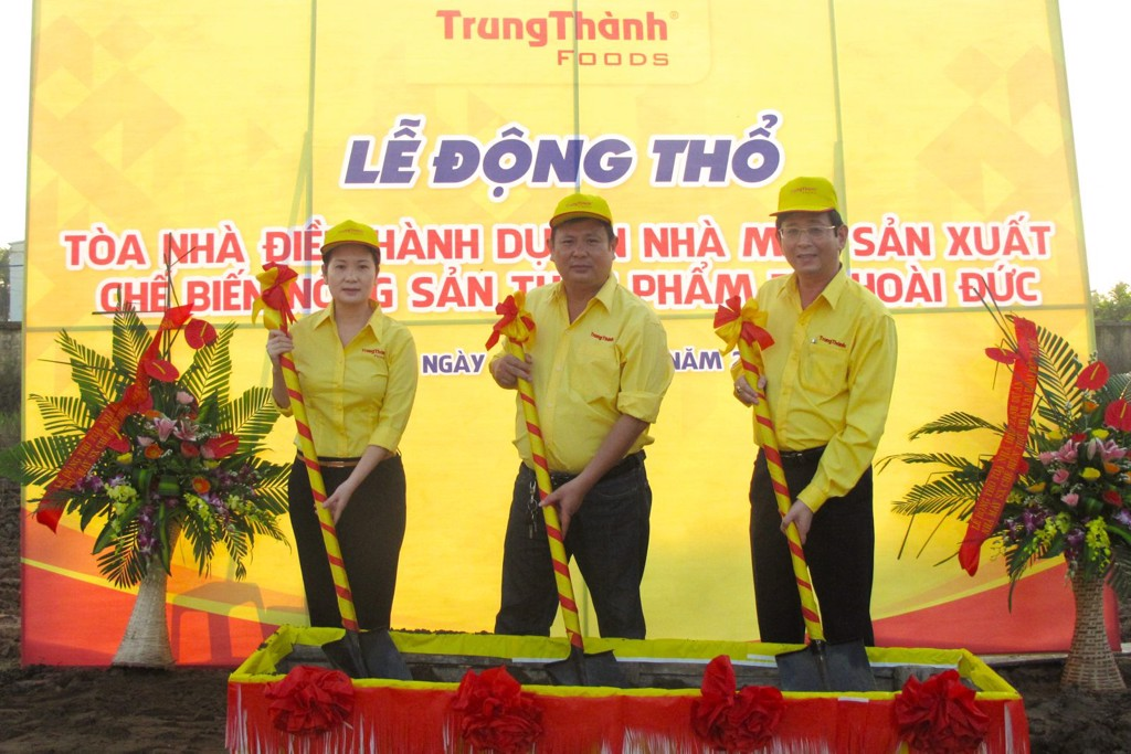 The project of building foodstuff processing operating factory in Hoai Duc