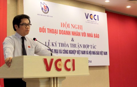 President - General Manager Ngoc Chung Attendance to Entrepreneurs Conference with Journalists