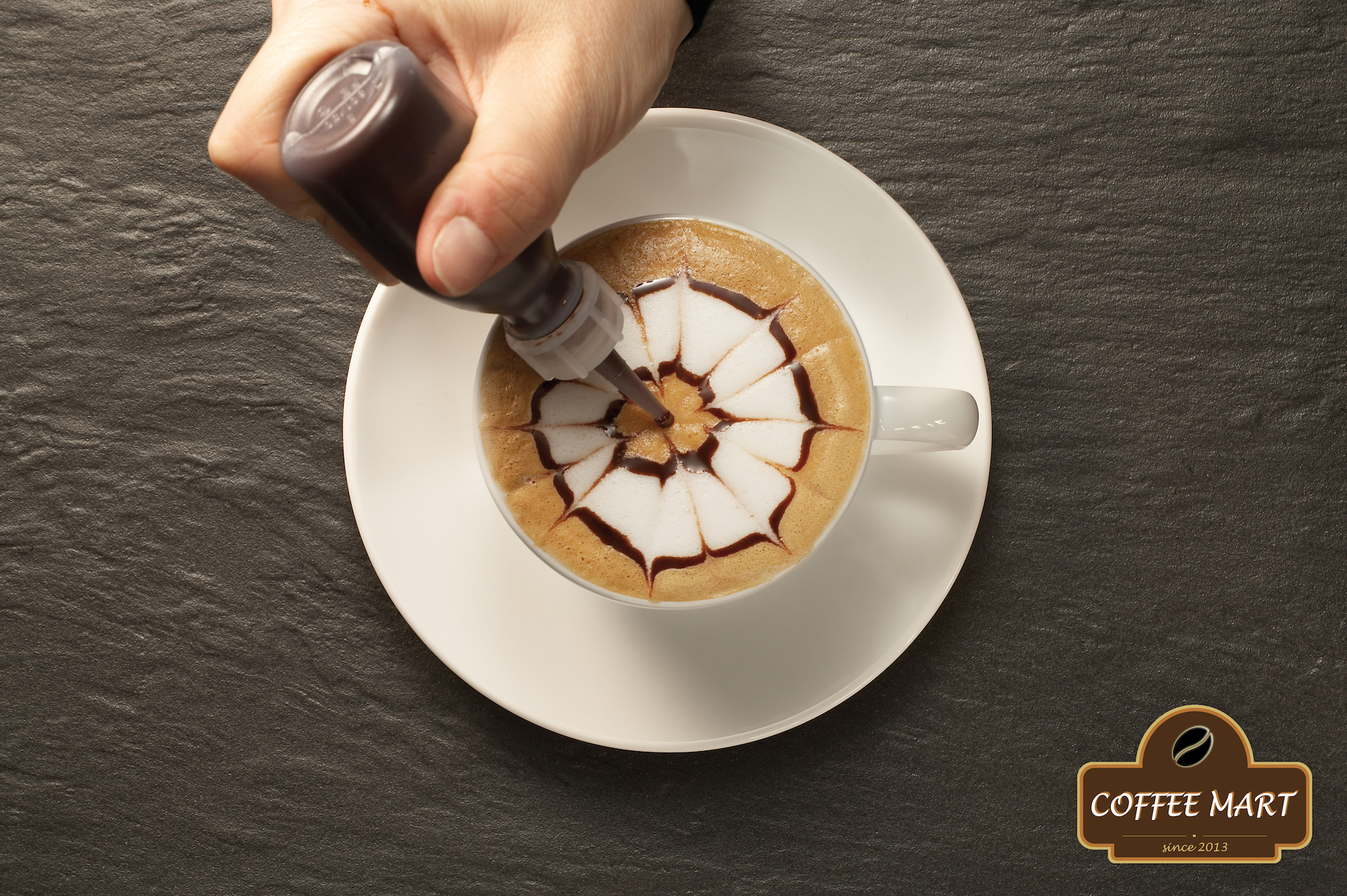 Cappuccino Flower