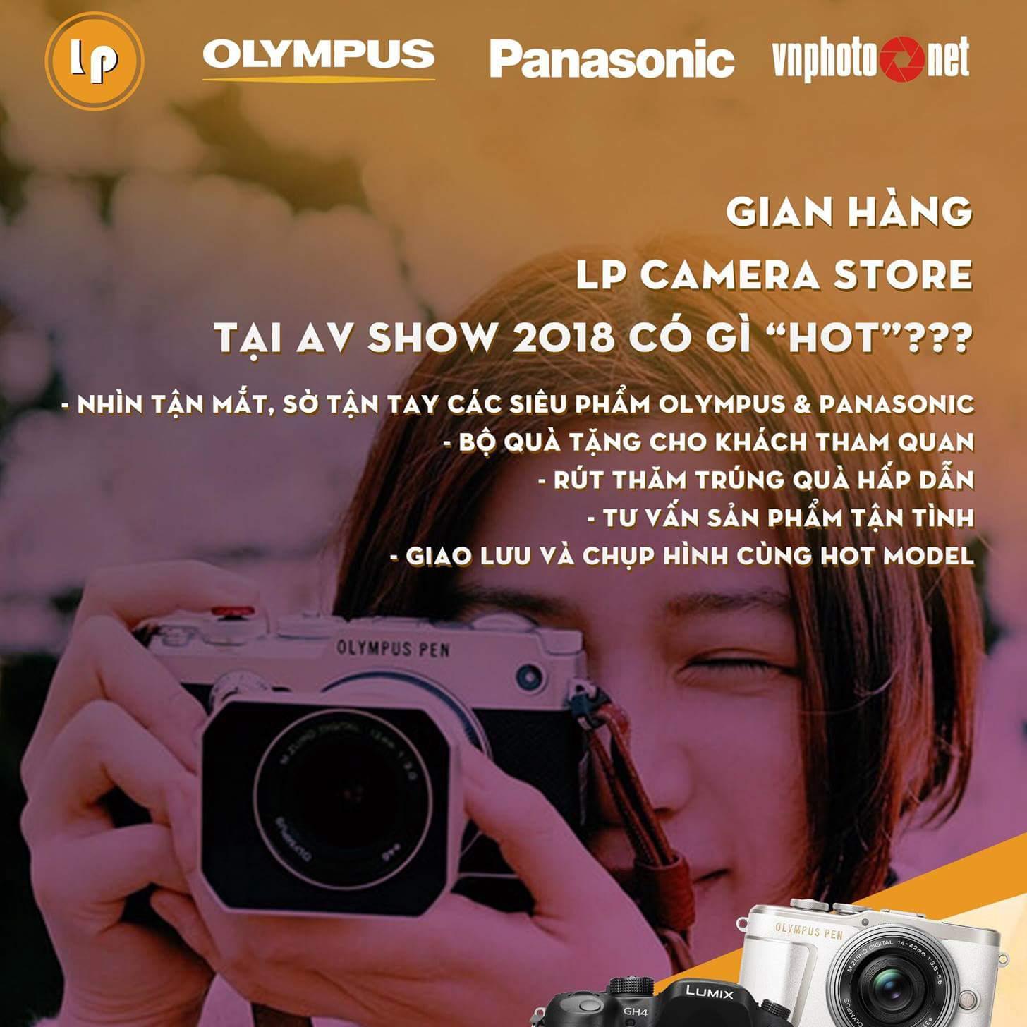 AV Show 2018 có gì HOT tại gian hàng LP Camera Store?