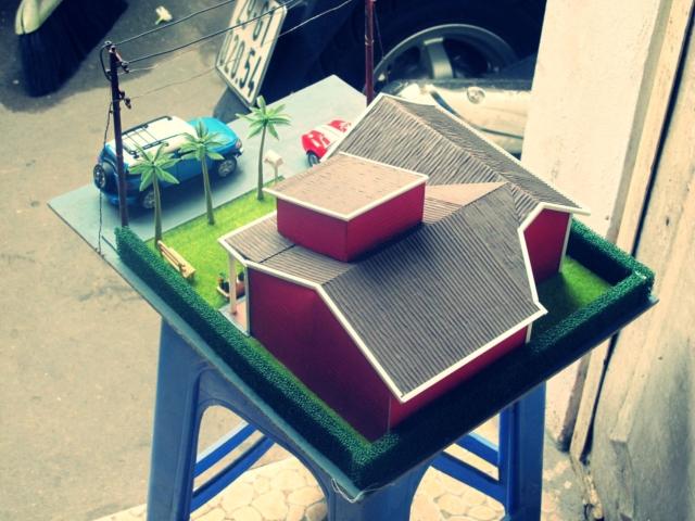 Khái niệm về mô hình diorama