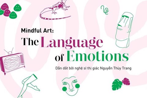 WORKSHOP TRỊ LIỆU NGHỆ THUẬT ART THERAPY 2019: SMELL - FEEL - SEE