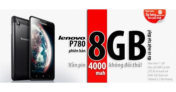 Lenovo P780 nâng cấp lên phiên bản 8GB
