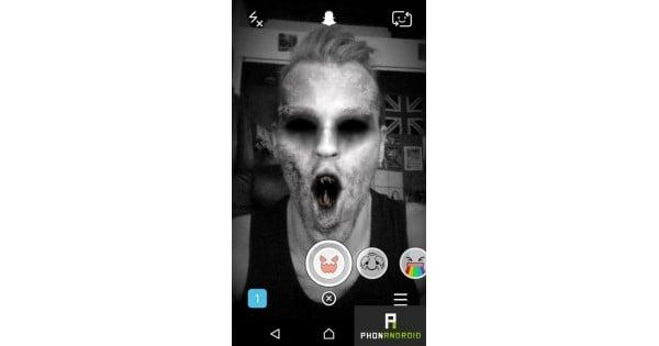 Sử dụng snapchat tạo hình kinh dị dọa bạn bè