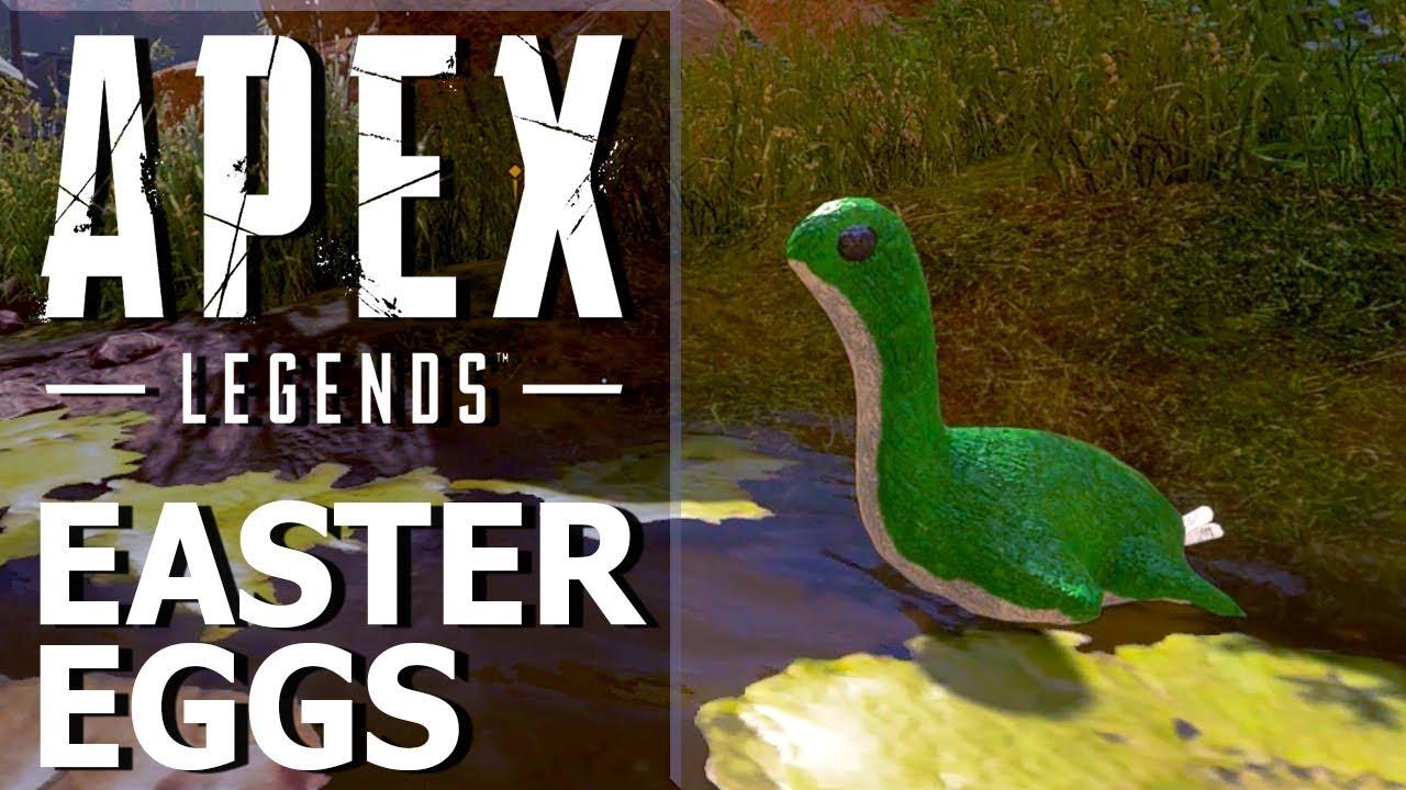 Bí Mật Khủng Long Nessie Trong Apex Legends Gây Sốt Trên Reddit