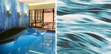 Add Impact To Your Pool With Glass Tile Mosaics