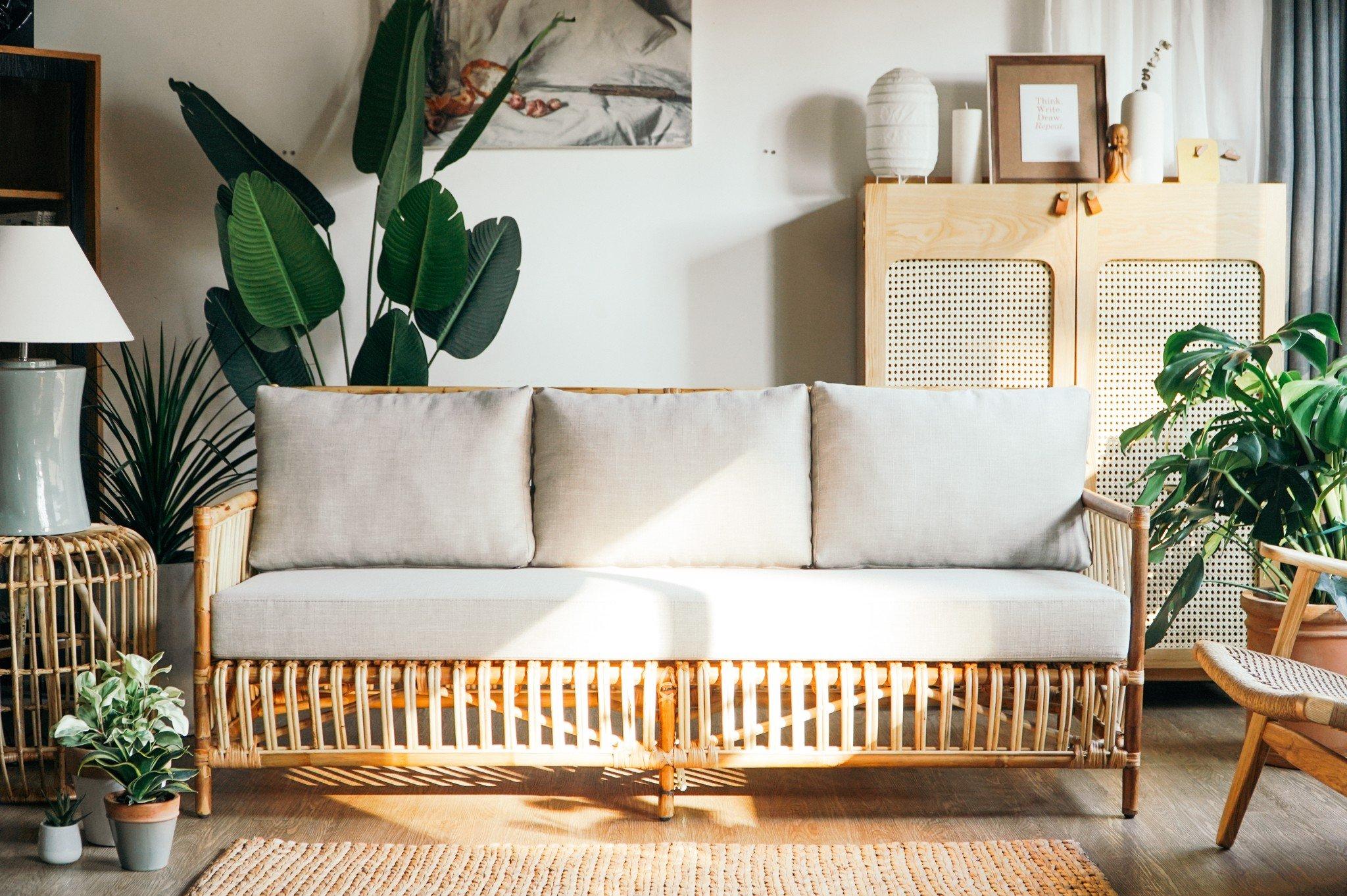 Nội thất mây tre - bộ sưu tập sofa mây, bàn ghế, tủ mây mới nhất từ Đê –  DemTrangHome