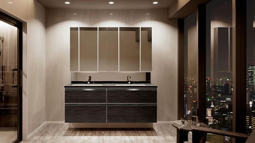 hệ tủ gương Takara standard