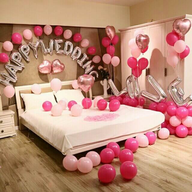 Cách trang trí phòng cưới lãng mạn dành cho vợ chồng trẻ 2021