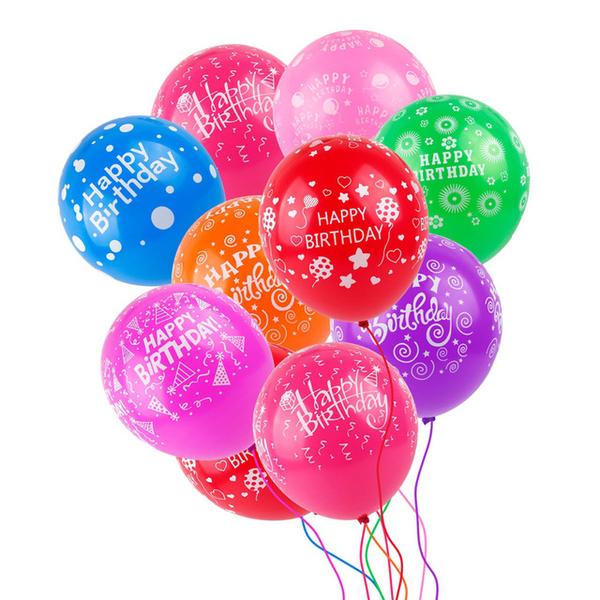 Bong bóng cao su tạo nên sắc màu rực rỡ cho bữa tiệc