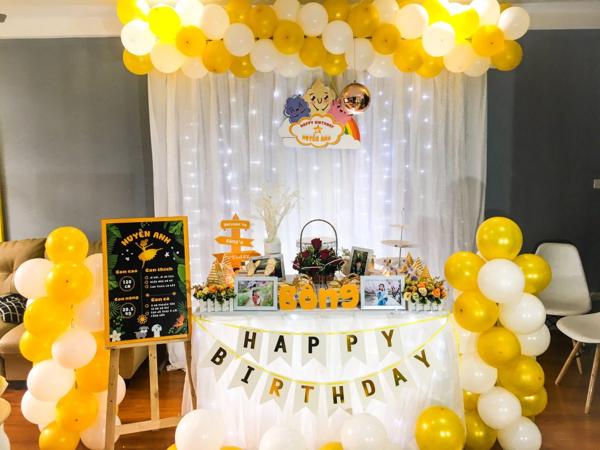 Ý tưởng về bàn tiệc sinh nhật