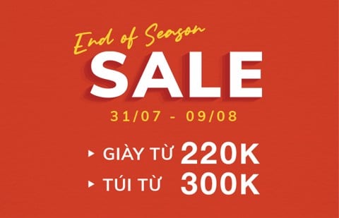 END OF SEASON SALE JUNOXMISOA