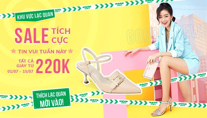 Tất cả sản phẩm giày Sale từ 220K 1