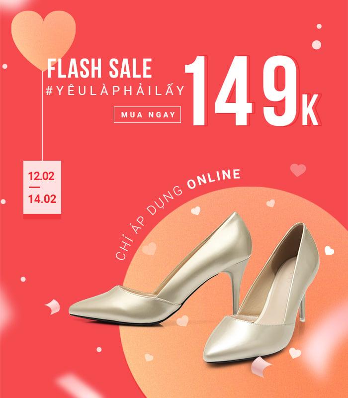 Flash sale online - Giày Túi 149K