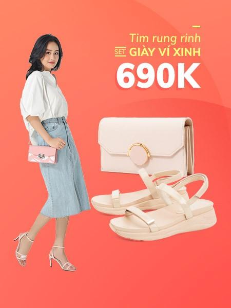 Giày Ví Xinh - 690K