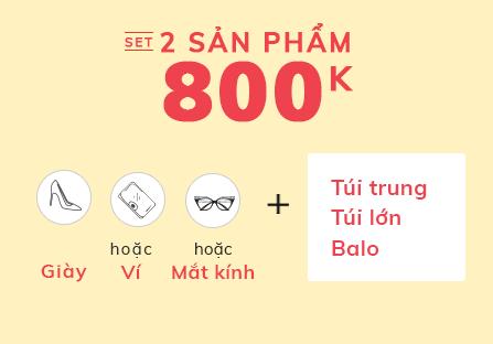 Set Túi + Giày 800K