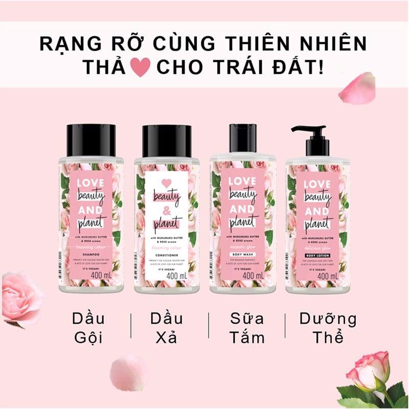 Dầu Gội Love Beauty And Planet Blooming Colour Shampoo – THẾ GIỚI SKINFOOD