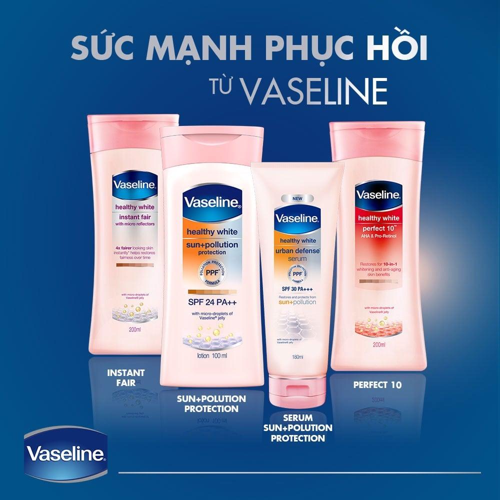 Sữa dưỡng thể trắng da Vaseline
